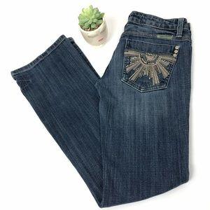 Miss Me Bootcut Sunshine Jeans Size 26